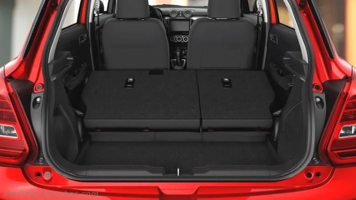 Suzuki Swift Boot Dimensions Cm