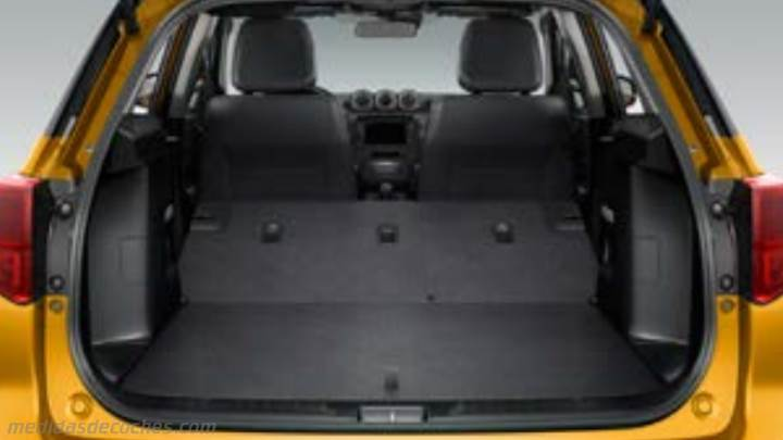 medidas suzuki vitara 2019 maletero e interior. Black Bedroom Furniture Sets. Home Design Ideas