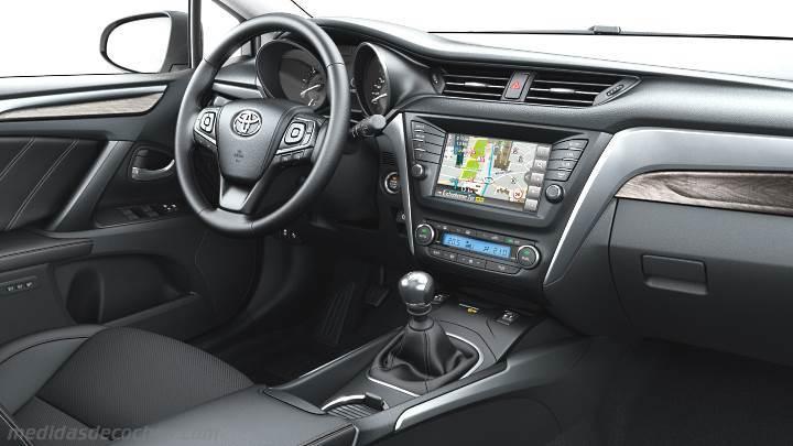 Medidas Toyota Avensis 2015, maletero e interior