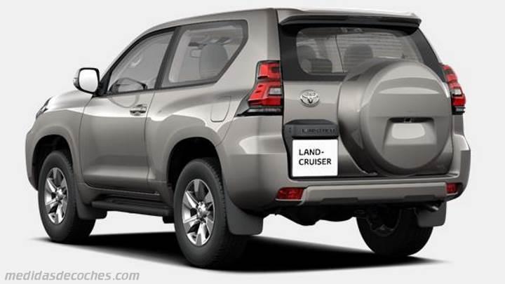 Medidas Toyota Land Cruiser 3p 2018 Maletero E Interior