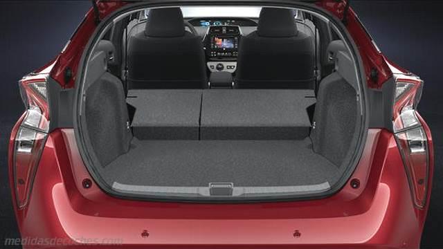 Pick Up Hyundai 2017 >> Medidas Toyota Prius 2016, maletero e interior