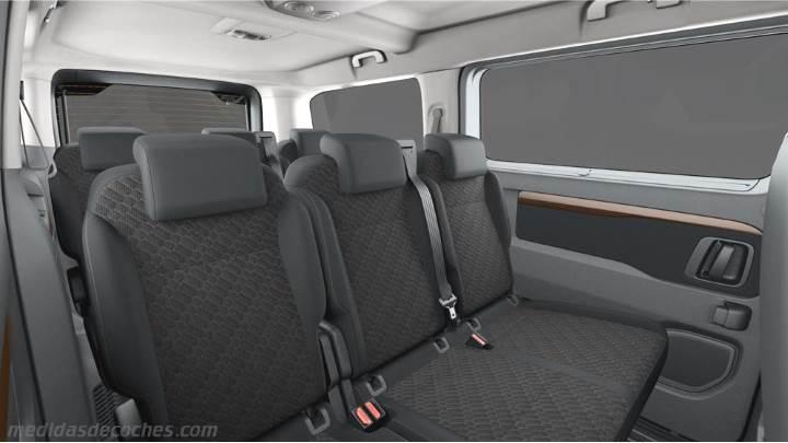 Medidas Toyota Proace Verso Larga 2016 Maletero E Interior