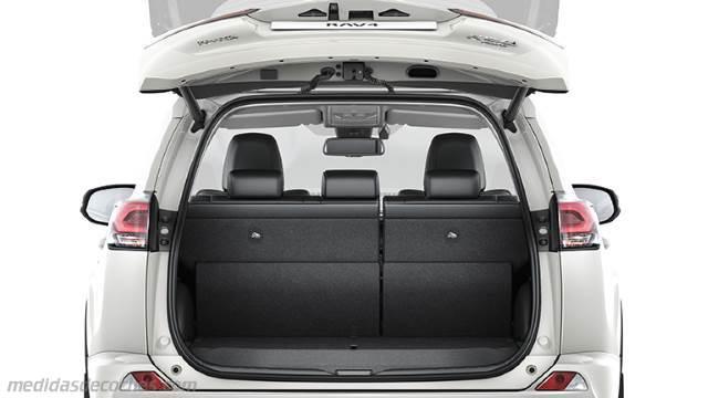Medidas Toyota RAV4 2016, maletero e interior