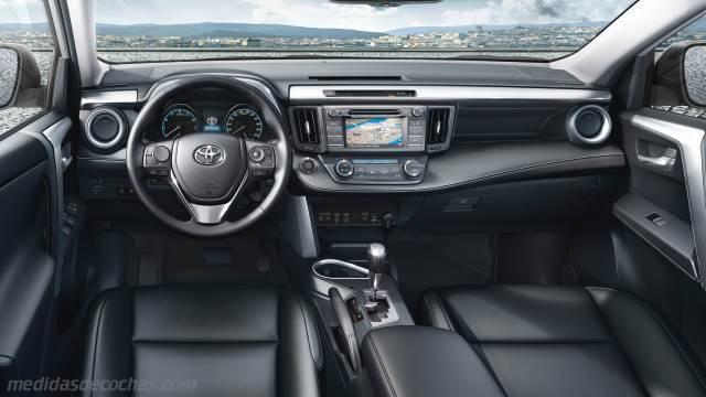 Medidas Toyota Rav4 2016 Maletero E Interior