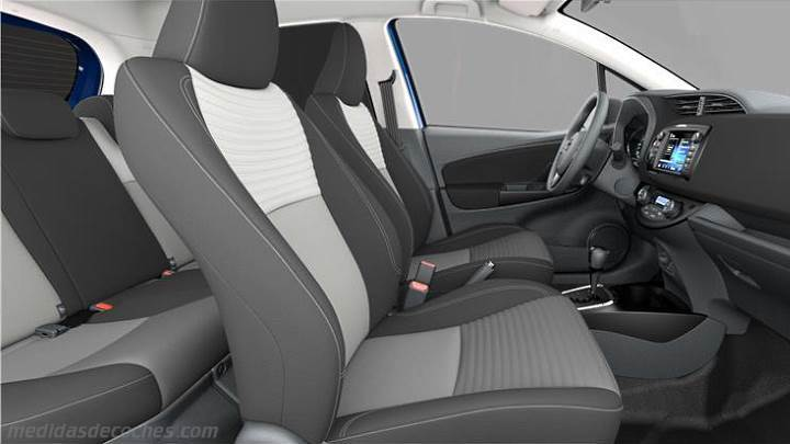 Medidas Toyota Yaris 2017 Maletero E Interior