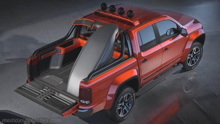 Medidas Volkswagen Amarok 2011 Maletero E Interior