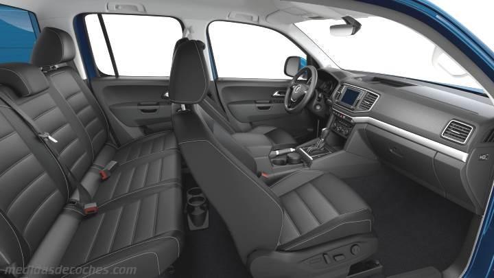 Medidas Volkswagen Amarok 2016 Maletero E Interior