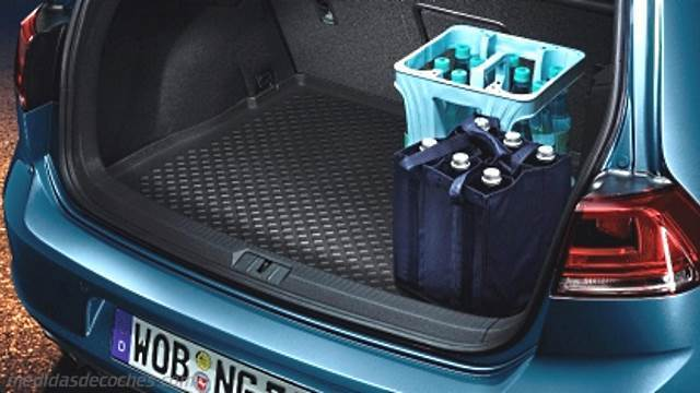 medidas volkswagen golf gti 2013 maletero e interior. Black Bedroom Furniture Sets. Home Design Ideas