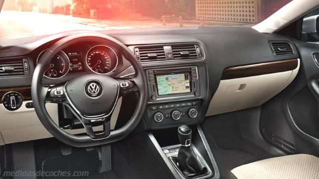 Medidas Volkswagen Jetta 2015 Maletero E Interior