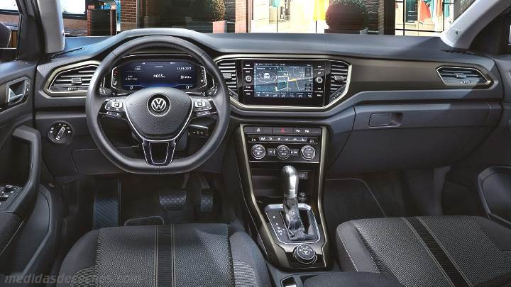 Medidas volkswagen t roc 2018 maletero e interior for Interior volkswagen t roc