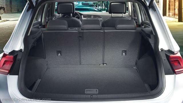 Medidas Volkswagen Tiguan 2016 Maletero E Interior