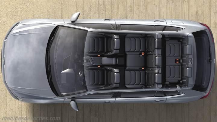 Medidas Volkswagen Tiguan Allspace 2018, maletero e interior