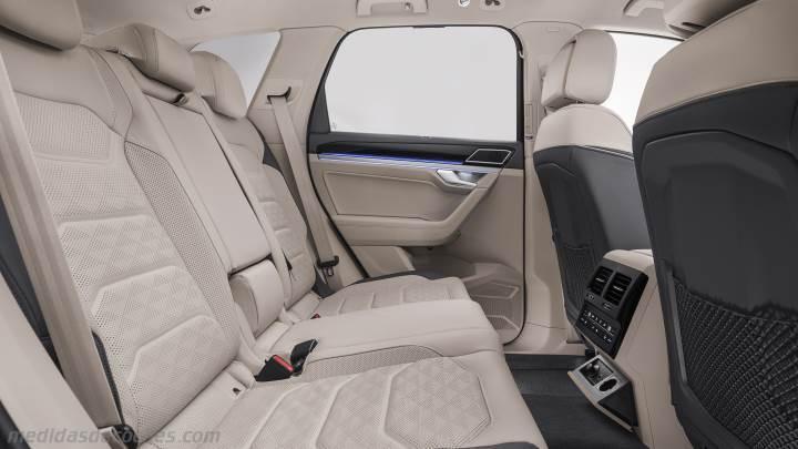 7 Seater Suv 2017 >> Medidas Volkswagen Touareg 2018, maletero e interior