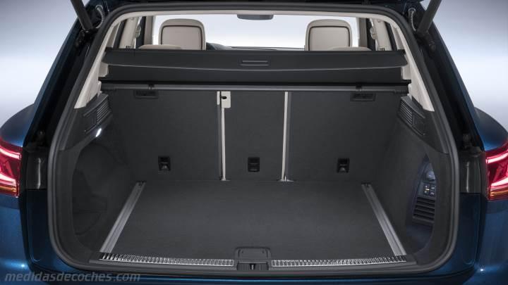 Medidas Volkswagen Touareg 2018, maletero e interior