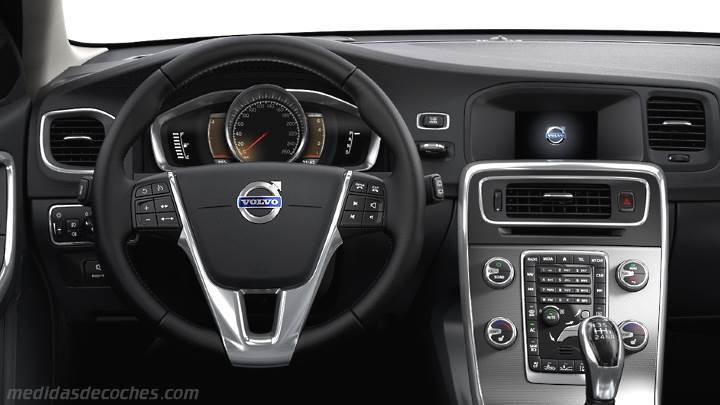 Medidas Volvo V60 Cross Country 2015, maletero e interior