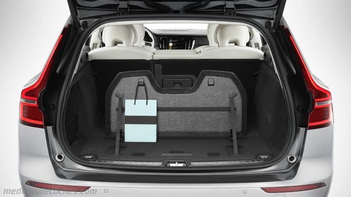 Medidas Volvo V60 Cross Country 2019 Maletero E Interior