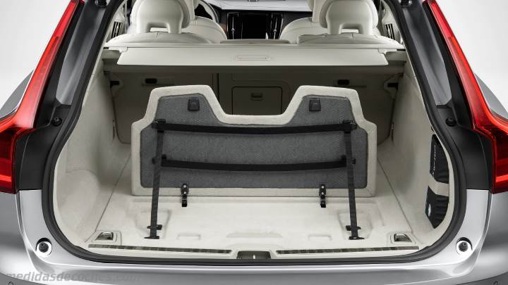 Medidas Volvo V90 Cross Country 2017 Maletero E Interior