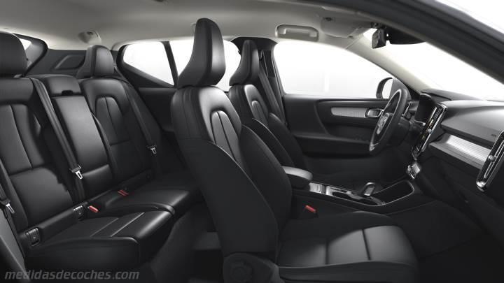 Medidas Volvo Xc40 2018 Maletero E Interior