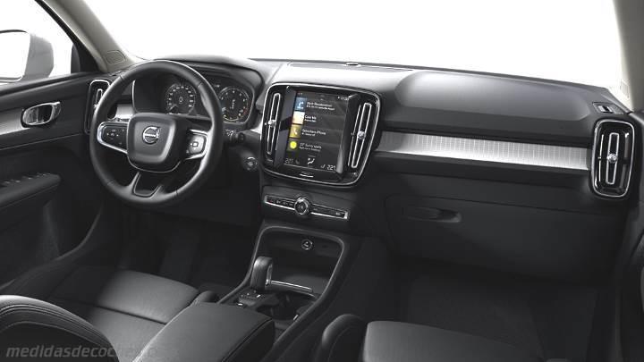 Resultado de imagen de volvo XC40 interior