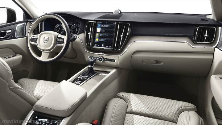 Medidas volvo xc60 2017 maletero e interior for Xc60 2017 interior