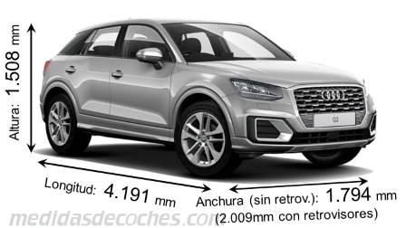 Medidas Audi Q2 2016 Maletero E Interior