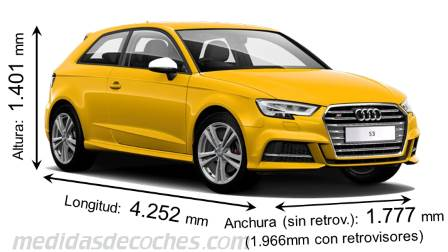 Medidas Audi A3 Sportback 2016 Maletero E Interior
