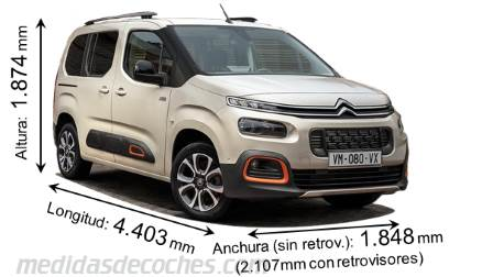Citroen Berlingo M 2019