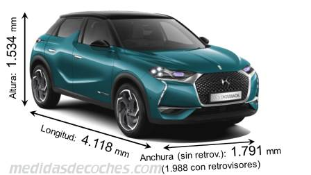 DS DS3 Crossback 2019
