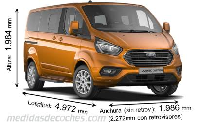 Ford Tourneo Custom L1 2018