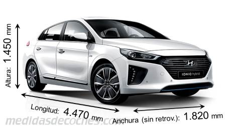Medidas Hyundai i30 Fastback 2018, maletero e interior