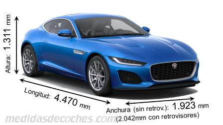 Jaguar F-TYPE Coupé 2020
