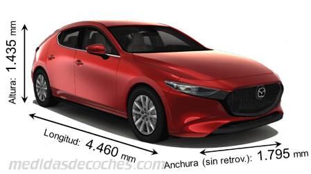 Medidas Mazda 3 2019 Maletero E Interior
