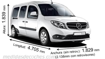 Mercedes-Benz Citan Tourer Extralargo 2013
