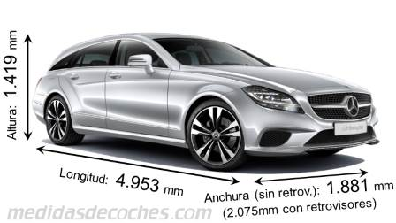 Mercedes-Benz CLS Shooting Brake dimensiones