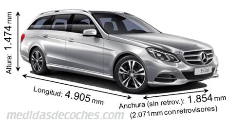 Mercedes-Benz Clase E Estate dimensiones