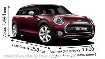 MINI Clubman dimensiones