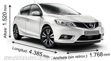 Nissan Evalia 2019 >> Medidas y dimensiones de coches marca Nissan