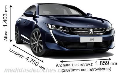 Medidas Peugeot 508 2019 Maletero E Interior