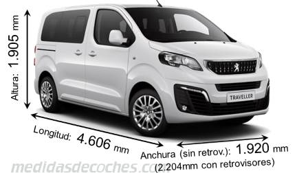 Peugeot Traveller Compact 2016