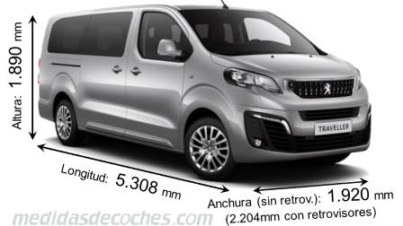 Peugeot Traveller Larga 2016