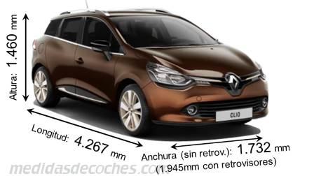 Medidas Renault Clio Sport Tourer 2013 Maletero E Interior