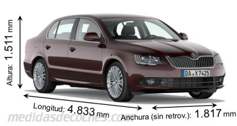 Škoda Superb - 2013