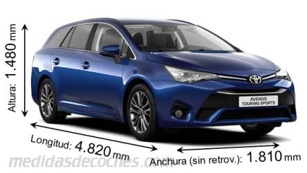 Toyota Avensis Touring Sports 2015