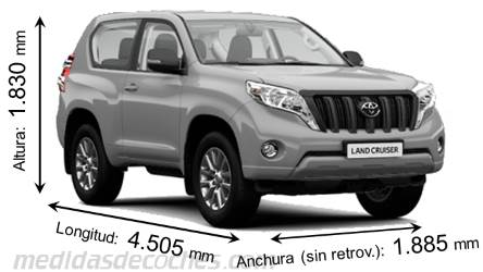 Toyota Land Cruiser 3p 2013