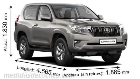 Toyota Land Cruiser 3p 2018
