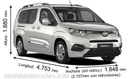 Toyota Proace City Verso Larga 2020
