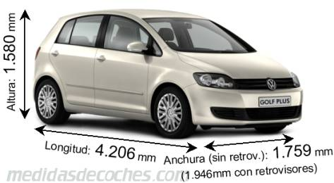 Volkswagen Golf Plus - A�o 2009