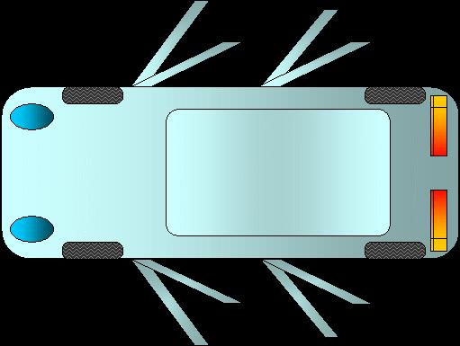 Simulador de las medidas de un coche en su plaza de for Una dimensione del garage per auto